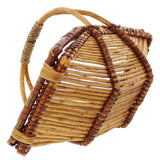 Square Ironing Basket, Braiding Stylish Basket, Large Handles, Braided Plate Storage, Traditionally Woven Style Plate Basket, Storage Basket, Woven Baskets, Decorative Baskets