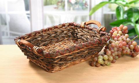 Braiding Stylish Basket, Braided Plate Storage, Traditionally Woven Style Plate Basket, Storage Basket, Woven Baskets, Decorative Baskets