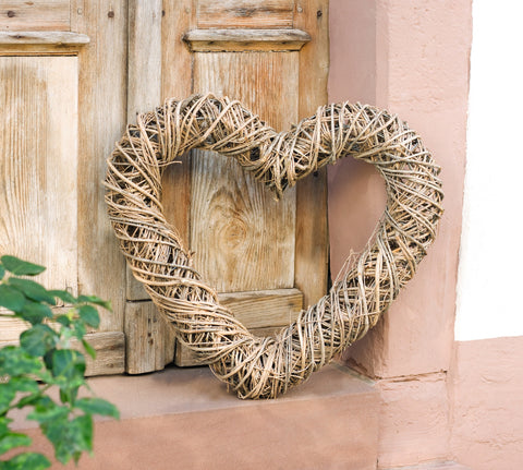 HEART WREATH DECORATION,