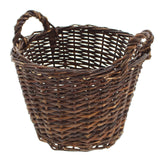 Wicker Basket, Vintage Storage, Woven Basket, Country Cottage, Sewing Basket, Flower Basket, Shabby Chic Home, Rustic Home Decor