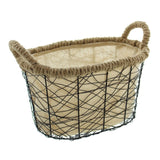 "Filling Basket, ""Metal Design"", Kitchen Vegetable, Fruits Storage Basket, Multipurpose, Versatile Basket"