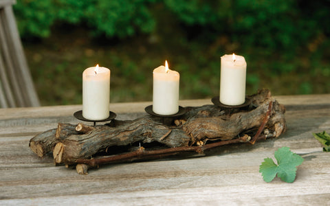 Wooden Candle  Stand, Candle Holder, Candle Board