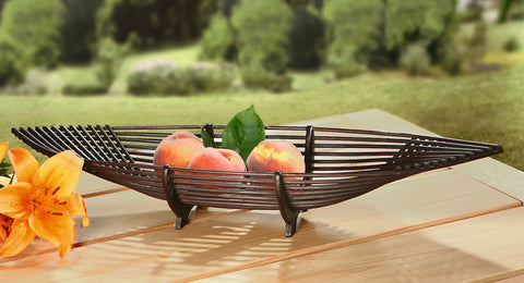 "Beautiful Fruit Bowl, Filling Basket, Fruit Basket ""Ship"