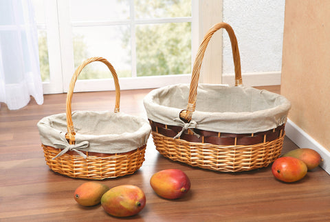 Storage Basket, Shopping Large, Filling Basket, Versatile Basket, Wicker Basket