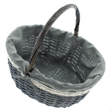 Shopping Storage Basket, Braided Traditional, Beautiful Woven Shopping, Easter Basket, Braided Supreme