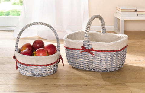 Shopping Storage Basket, braided Traditional, Basket,