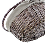 "Self Service Basket, ""Modern"", Shopping Storage Basket, Braided Traditional, Beautiful Woven Shopping, Easter Basket"