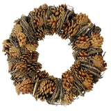 "Round Wreath, Wall Decoration, ""Pine cones"", Christmas Wreath, Classic Christmas, Wreath Festive Display"