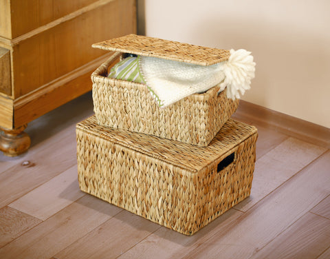 Universal Chest, Small Storage Box, Beautiful Woven Filling Container, Home Decor,