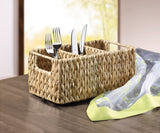 Cutlery basket, storage basket, beautiful woven, filling basket stand