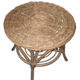Rattan table and 2 Chairs patio furniture, Outdoor Garden Furniture