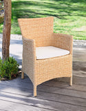 POLY CHAIR, GARDEN FURNITURE, BRAIDED CHAIRS, POLY RATTAN GARDEN, RATTAN HIGH ARMCHAIR, PORTABLE CHAIR, WOODEN CHAIR, OUTDOOR CHAIR,