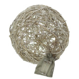 "Rattan Ball Light, Ball ""Light"", Decorative Lighting, Christmas, Ideal Gifts, Rattan Globe Ball, Style Led"