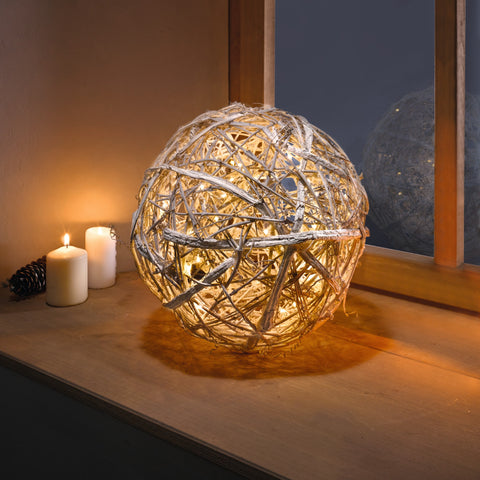 Rattan Ball Light, Ball