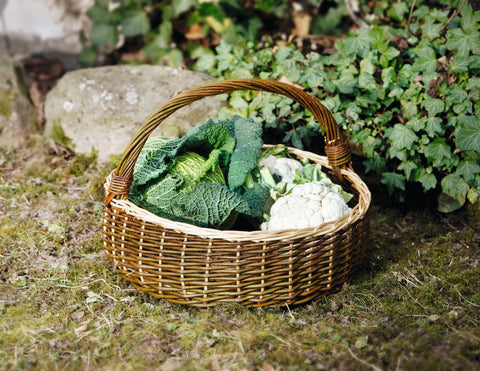 Wicker Vegetable Basket