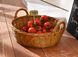 "Filling Basket, ""Nature"", Stylish Basket, Traditionally Woven Style, Plate Basket, Storage Basket, Woven Baskets, Pretty Storage Boxes, Decoration Basket"