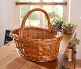"Strap, ""Cable Pattern"", Filling Basket, Stylish Basket, Traditionally Woven Style, Plate Basket, Storage Basket, Woven Baskets, Decorative Baskets"