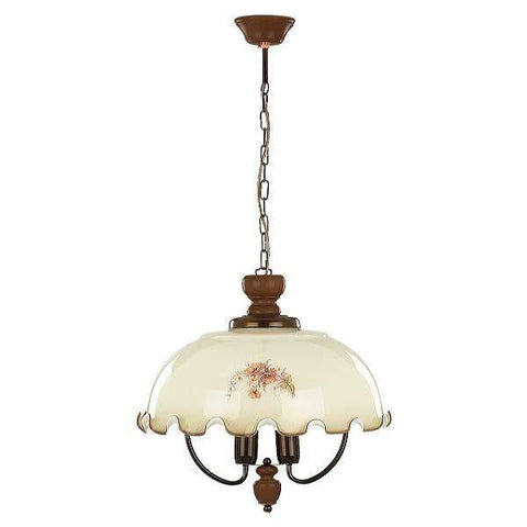 Classical Wood, Steel Glass Metal Ceiling Hanging Light Pendant Flush Lamp Fixture Lighting Chandelier Metal Indoor Lighting Home Decoration 1803