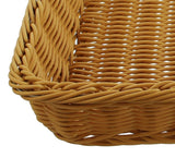 "Display Wicker Tray, Display Rack, ""Poly"", Shelf Basket, Filling Basket, Kitchen Basket, Small Basket, Storage Basket, Multifunctional,"