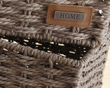 "Cutlery Tray, Cutlery Basket Organizer 1pc, Traditional Wicker Kitchen Organisers, Braided Cutlery Trays, Drawer Dividers, Cutlery, ""Home"", Kitchen Decoration"