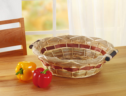 Filling Bowl Basket, Kitchen Stuffing Vegetable Basket, Fruit Organizer Basket Bowl
