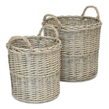 Willow Wicker Garden Basket, Universal Basket Multifunctional, Basket for Pots, Flower Holder Planter Garden Home Decoration Wicker Woven