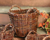 Stuffing Braided, Basket with Handles, Filling Basket,