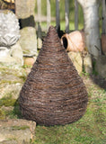 "Garden Wicker Decoration, ""Twig Cone-Pyramid"", Brushwood Cone, Home Decor, Country House, Style Wicker, Garden Decoration"