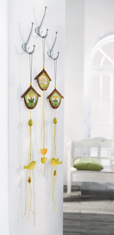 Easter Decoration Hanger, It's Easter Time, Home Hanging Decorations Set of 3