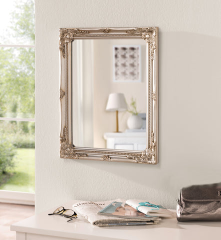 Mirror With Baroque-Style, Elaborate Frame, Mirror Frame, Wall Decoration, Home Decoration
