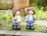 Siblings in summer mood Cute Decorations Ornaments ,Garden Decoration ideas 2017