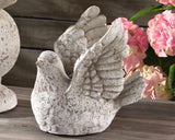 "Decorative Pigeon, Garden Accessories, ""Antique"" Nostalgic-Looking Bird Figure, Garden Decoration Ornament, Home Decor"