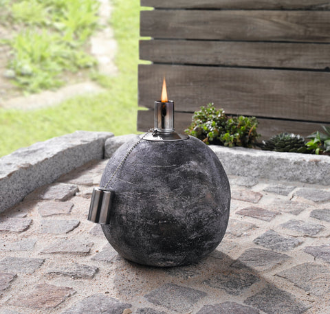 Oil lamp, Oil Torch Garden,