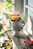Round Planter Pot, Planter Pot, Garden Planter, Cemented Pot, Patio Pasture, Home Decoration, Flower Holder, Flower Pot
