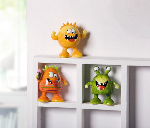 Monster Action Figures, Toy Figures home decoration, wall art console mantel table Decoration