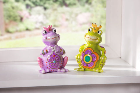 Frog Decoration, King Window Decoration, Home Table Decor, Decorative Home Ornament, Garden Ornaments, Home & Outdoor Decoration Set of 2