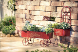 Garden Planting Trolley, Portable Trolley Planter, Mobile Planting Cart, Patio Pasture, Garden Decoration
