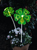 Garden solar ornaments, solar plant flower, decoration craft, decorative garden solar flower, park lawn ornaments, night garden decoration