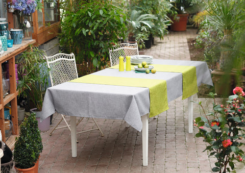 Pistachio Table Runner, Tablecloth, Table Cover,Melange Table Top, Table Decoration, Outdoor Picnic, Casual Dining Essentials