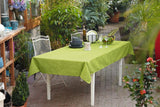 Pistachio Table Cover, Melange Tablecloth, Full Table Runner, Table Top, Table Decoration, Outdoor Picnic, Casual Dining Essentials