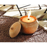 Candle Stand Terracotta Candle Cup, 3pc Home Decoration Christmas Xmas Decoration Event Party Birthday Lighting