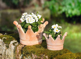 Planter Pot Crown Shape, Terracotta Flower Pots, Garden Pots Planters, Garden Pot, Indoor Outdoor Plantation