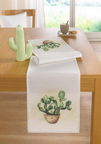 Cactus Table Runner, Tablecloth, Casual party Dining Essentials Tablecloth Picnic Table Cloth Home Decoration