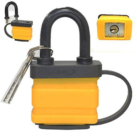 eMarkooz(TM) 40MM PADLOCKS Waterproof Heavy Duty Shackle Outdoor Padlock new  Arts and Home Accessories