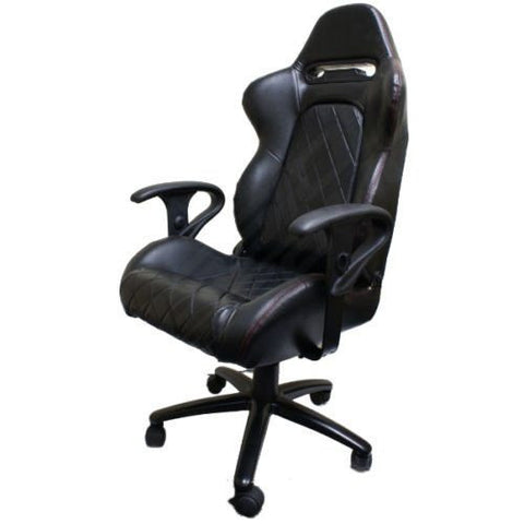 Luxury Stylish Executive Chair Office Chair Office Desk Computer Chair New Adjustable Black