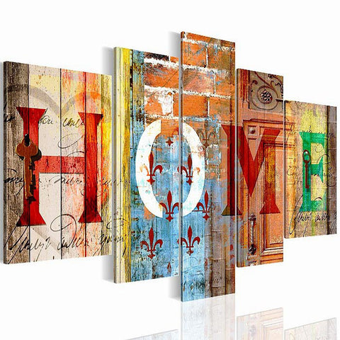 Wall Decoration Canvas Art Painting Hanging Frame Wall Pictures Photo Frame Home Decoration Gifts