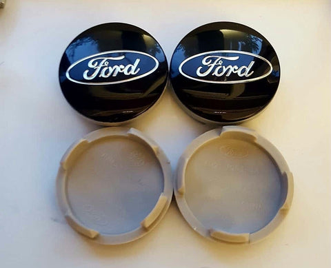 54mm Ford Car Wheel Hub Center Caps Blue set of 4 Car Accessories Amazon