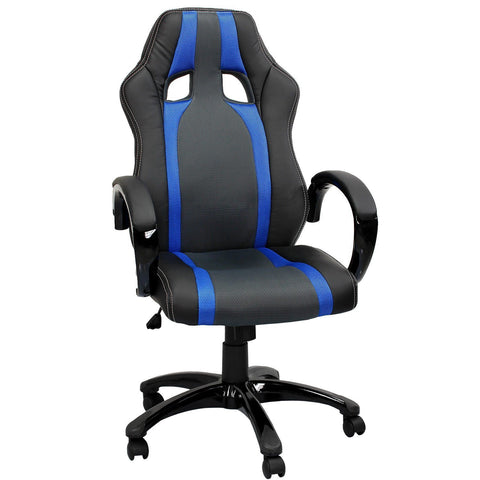 Swivel Desk chair executive office Mesh chair (Blue)
