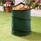 Heavy Duty Large Pop Up Garden Bag Waste Weeds Leaves Bin Cutting Sack Carry Bag New Sheds and Storage Garden Furniture eMarkooz (TM)