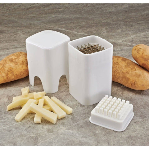 French Fry Fries Chips Cutter Vegetable Chopper Potato Thin Cut Skinny Slicer New Kitchen Tools and Gadgets eMarkooz(TM)